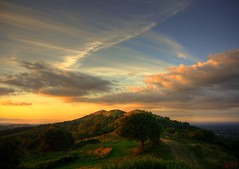 Evening Sky, Malvern photo by flash of light