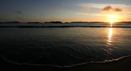 Sunset on MacKenzie Beach