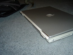 Broken Powerbook Hinge - 16