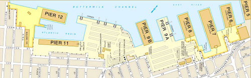 Red Hook Port Map