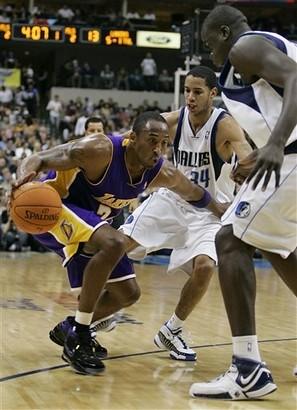 Kobe alone