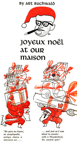 Joyeux Noël at the Buchwald Maison
