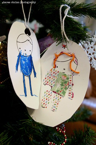 kids' christmas crafty-ness