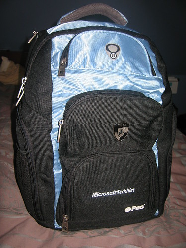 Snazzy TechNet backpack