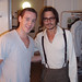 Johnny Depp Backstage at the Ahmanson Theatre