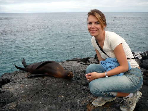 Michelle and Sea Lion