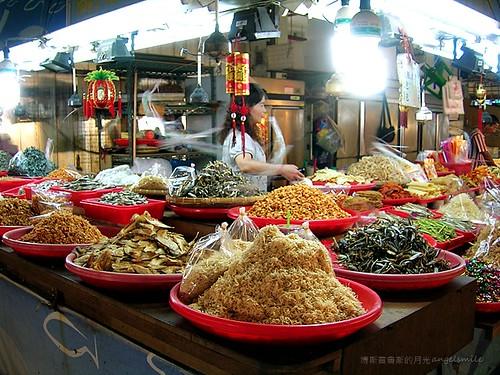 布袋觀光魚市 - 海鮮乾貨