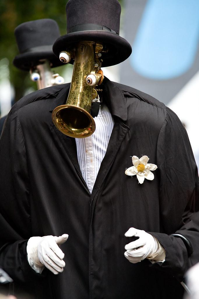 Den Haag - Uitmarkt - Saxofoonman 2 - Zondag 2 september 2007
