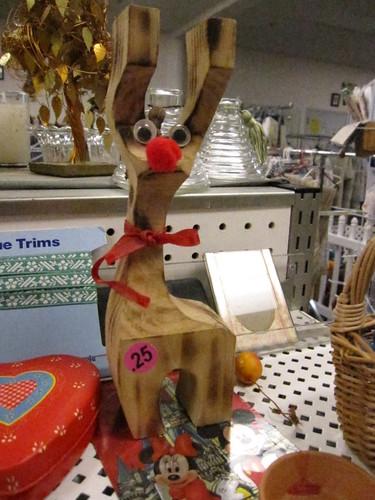 bewildered reindeer