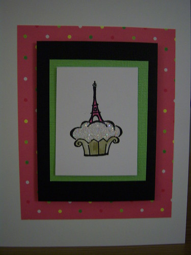 Homemade Cupcake Cards
