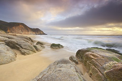 Grey Whale Granite #1 - Grey Whale Cove, California photo by PatrickSmithPhotography