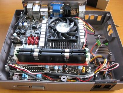 NES HTPC Inside