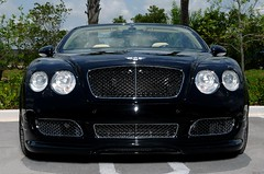 Bentley GTC front photo by Charnos Custom Rides