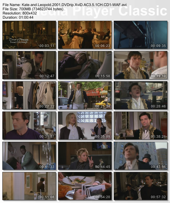 Kate.and.Leopold.2001.DVDrip.XviD.AC3.5.1CH.CD1-WAF