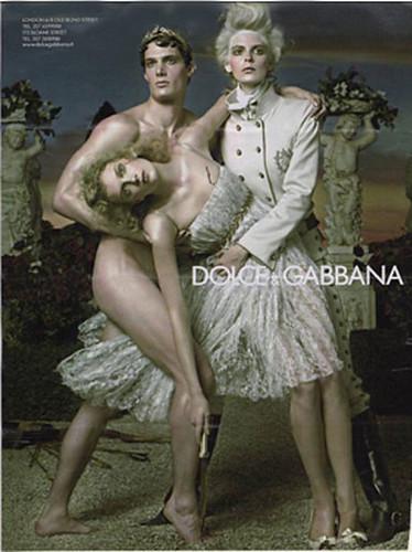 DOLCE&GABBANA Ad