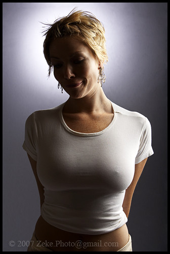 Bras cause saggy breasts page 2 for Tight shirt no bra