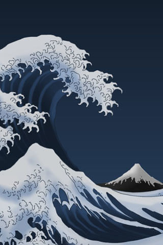 greatwave iphone