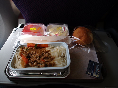 lunch on the airplane (by 小帽(Hat))