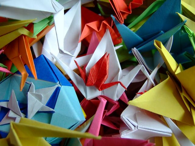 Fold Origami Weapon  U00ab Embroidery  U0026 Origami