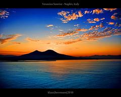 Vesuvius Sunrise - Naples, Italy photo by farbspiel
