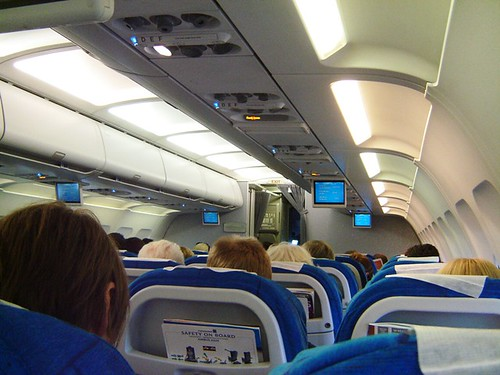 Finnair Boeing MD11 Jet Interior