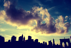 New York City Skyline photo by Jane Gardner