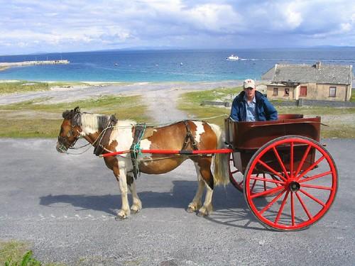 11 Public Transport on Aran Islands - Ireland
