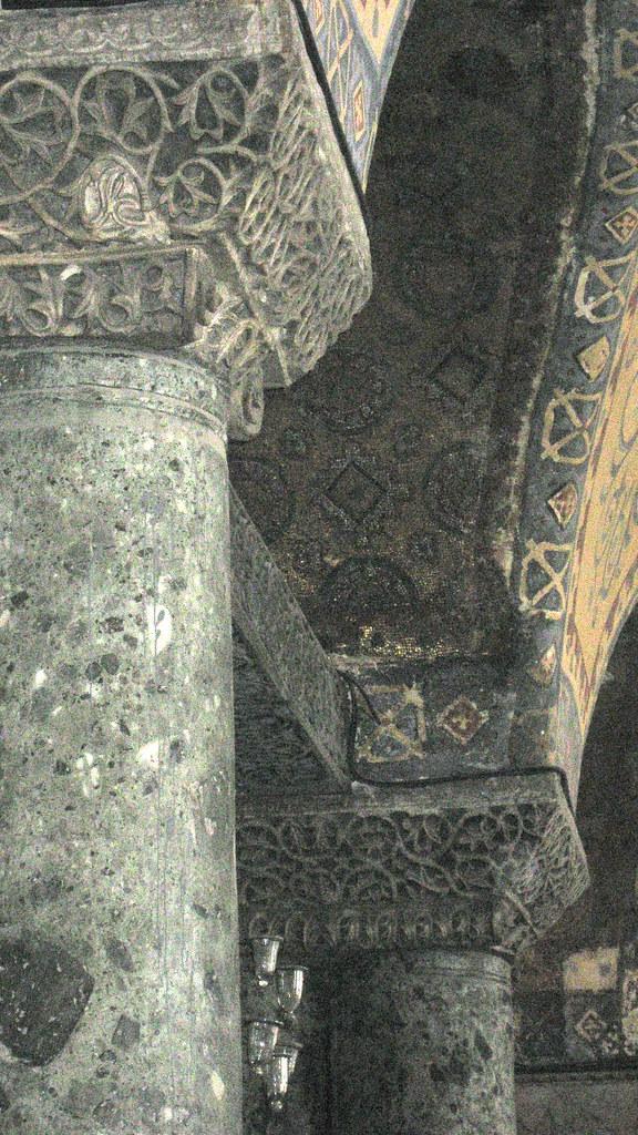 columnas de Santa Sofía