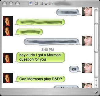 mormons D&D