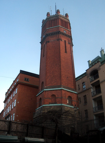 Mosebacke Water Tower (by Steffe)
