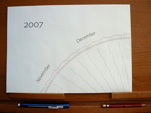 W. Bradford Paley's calendar
