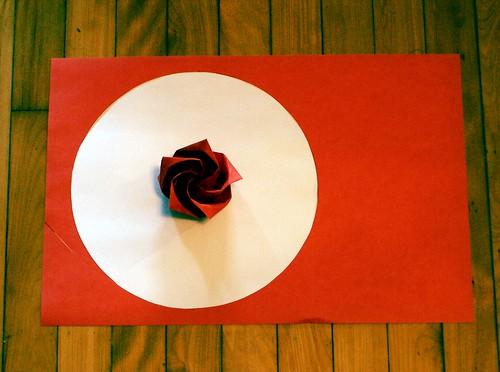 O3 Rose Flag