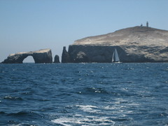 The sea arch at Anacapa Island, part of California's Channel Islands National Park