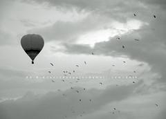 Mother Ship [Hot Air Baloon Show. Putrajaya, MY] photo by AvikBangalee