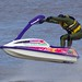 Jet-skiing on the River Severn