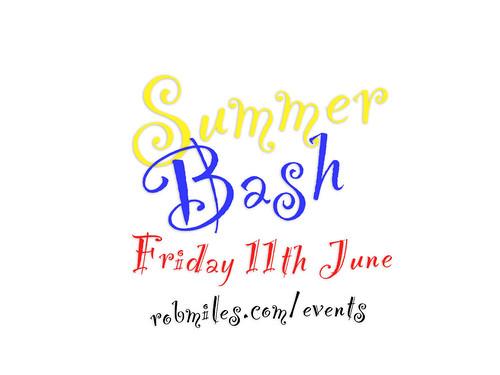 Summer Bash Poster