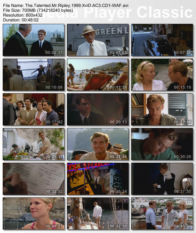 The.Talented.Mr.Ripley.1999.XviD.AC3.CD1-WAF