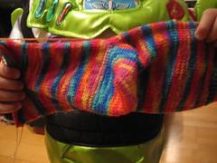My best ever yarn-over short-row heel