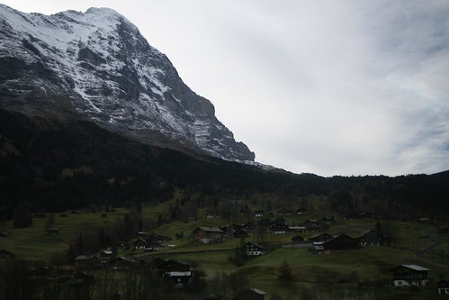 On the way up to Kleine Scheidegg