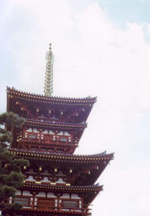 薬師寺・西塔