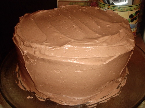 Peabody's Aunt's Mother's Chocolate Cake!