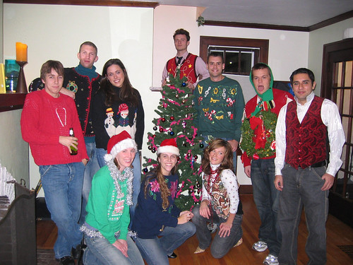 Holiday Sweater Party - The Whole Gang