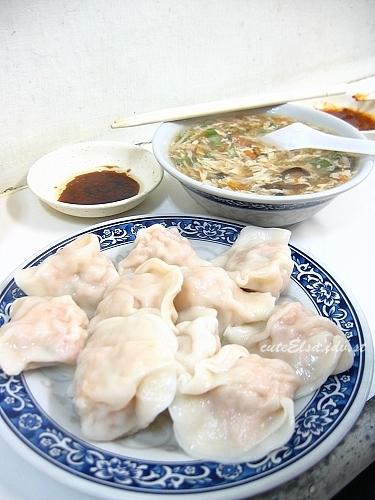 豪季水餃店-水餃+湯