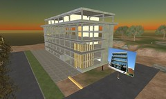 Architectuur in Second Life: Dedato of Amsterdam