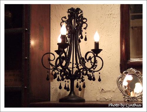 巫女風的檯燈