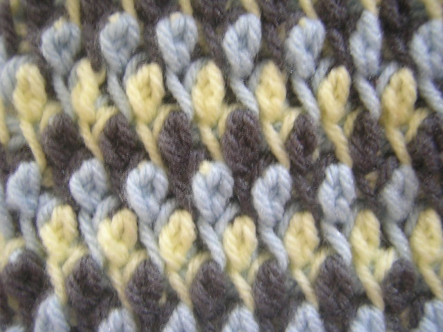 Crochet ~ Front Post Double Crochet (FPdc) - YouTube