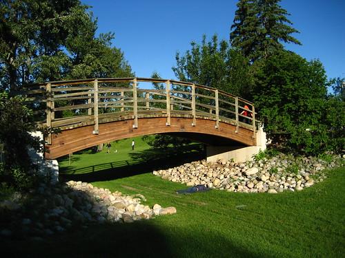 Bridge Prince's Island Park