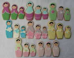 Babushka Cookies photo by Three Honeybees
