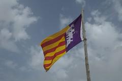 Fahne von Castell de N'Amer