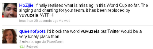 Vuvuzela Twitter